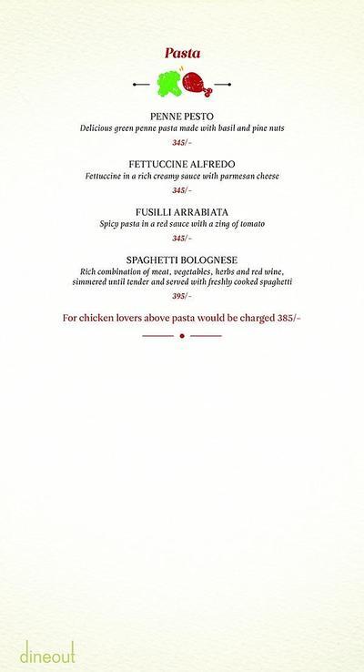 Zaheer Khan's Dine Fine Menu 17