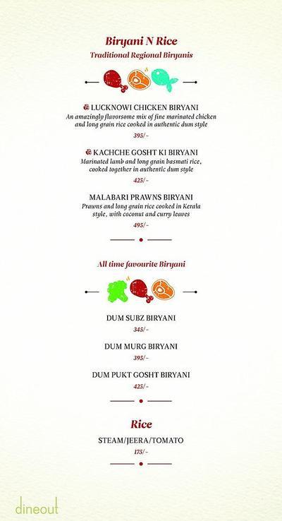 Zaheer Khan's Dine Fine Menu 9