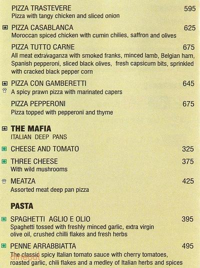 Spaghetti Kitchen Menu 4