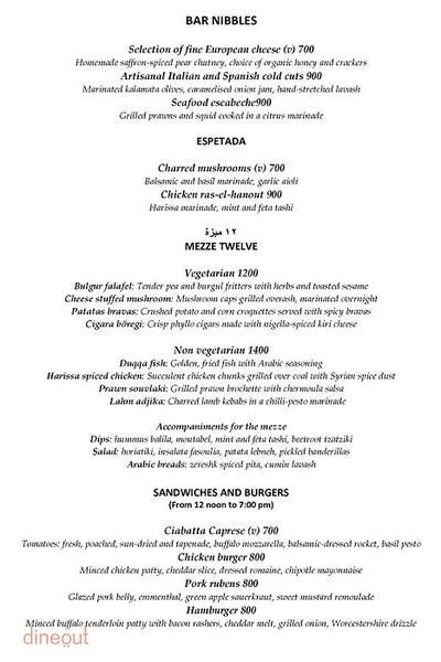 Olive Bar & Kitchen Menu 11