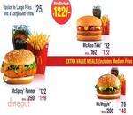 McDonald's Menu