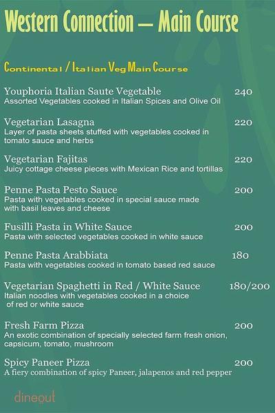 Youphoria Restaurant Bar & Lounge Menu 9