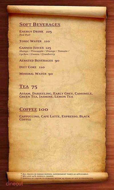 The Vault Cafe Menu 24