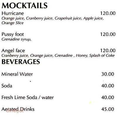 Shamrock - The Irish Bar Menu 12